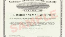 Finally Merchant Mariner Certificates Suitable For Framing