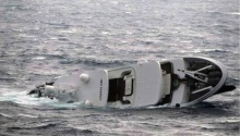 A Billionaire S Bad Day Superyacht Sinks Off Greece Video Gcaptain