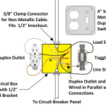 How to Wire a Light Switch Single Pole Light Switch Wiring on