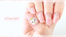 Cat Princess Nail Art